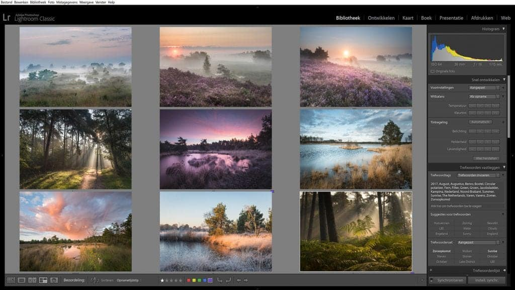 Ontdek hoe je foto's bewerkt met Lightroom
