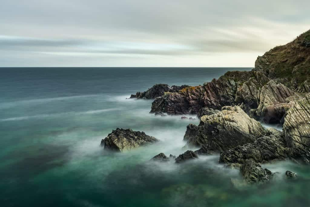 De prachtige kust van North Cornwall