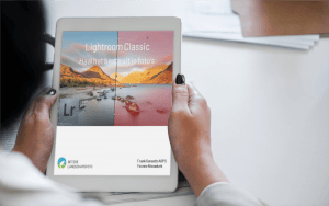 Dit is het e-book dat je bij iedere cursus adobe photoshop Lightroom krijgt