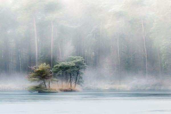 Een foto gemaakt tijdens de workshop landschapsfotografie soft focus