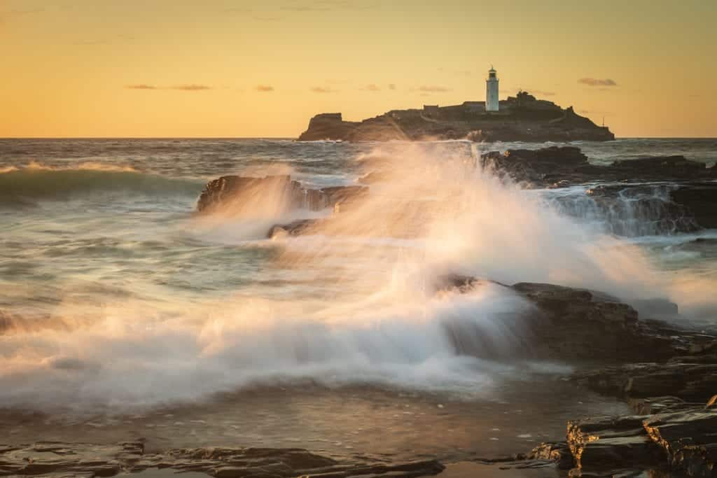 Unieke seascape foto's van North Cornwall Engeland