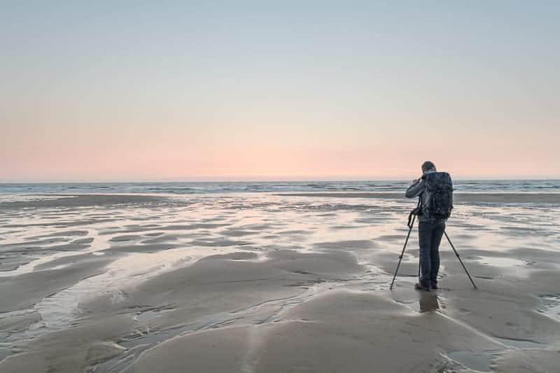 fotograferen aan de kust