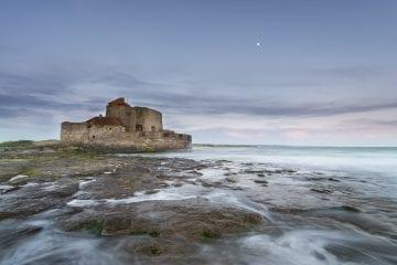 We fotograferen het fort tijdens de fotoreis naar de Opaalkust