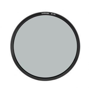 Het polarisatiefilter is geschikt voor de NiSI filterhouder