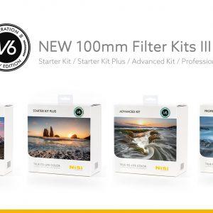 Overzicht van de NiSi Filter kits V6