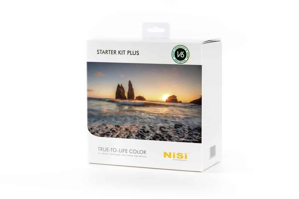 NiSi starter Kit plus grijsverloopfilters