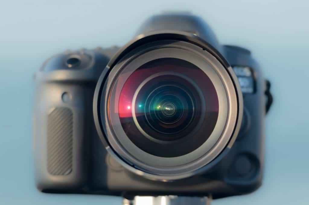 Samyang 10mm van voorkant