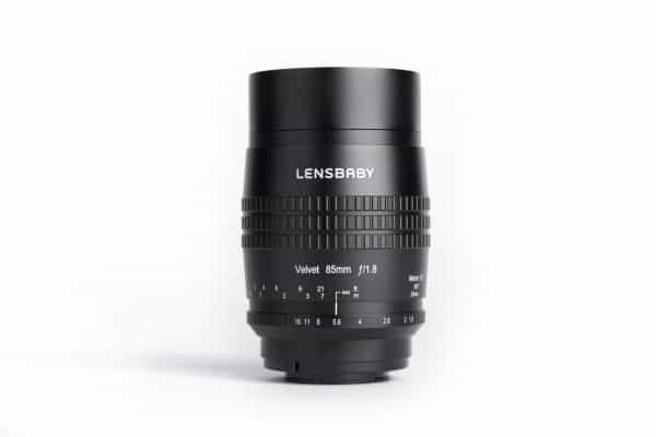 Voorbeeld van de Lensbaby Velvet 85mm