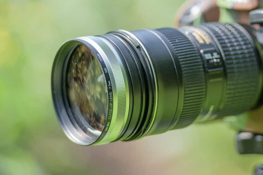 Zo ziet de close up lens van NiSi er uit.