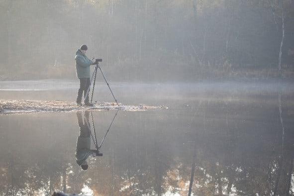 Natuurfotografie is helemaal Frank z'n ding
