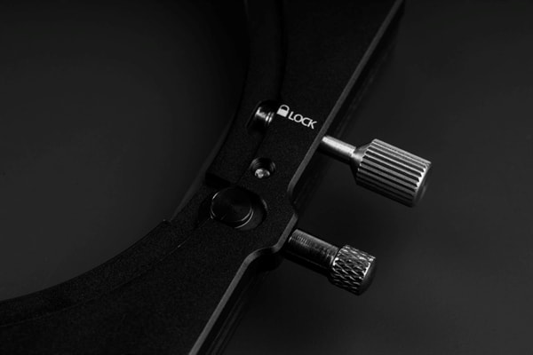 NiSi M75 filterhouder met polarisatiefilter knopjes