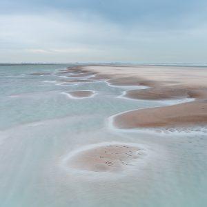 Sfeervolle foto van de Noordzee tijdens de workshop kustfotografie de elementen