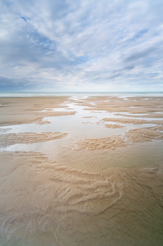 Gemaakt met het NiSi Landscape CPL filter aan de Opaalkust