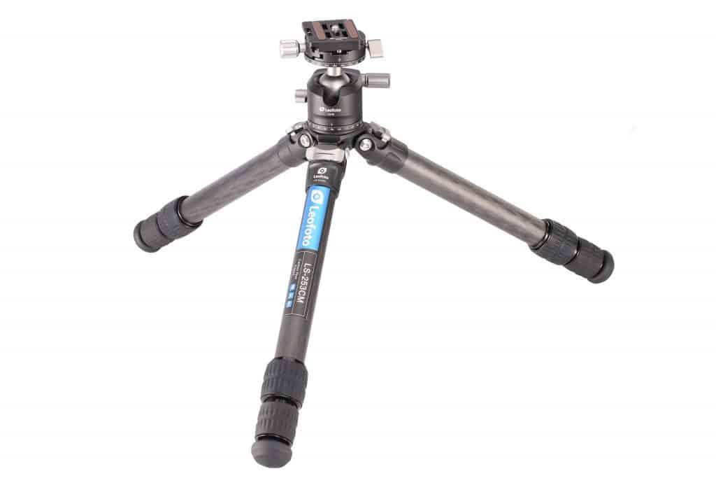 Leofoto statief voor macrofotografie met balhoofd