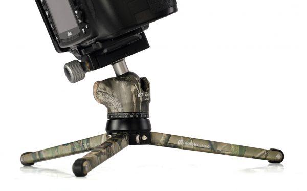 Mini Leostatief in Camouflage uitvoering in de spagaat