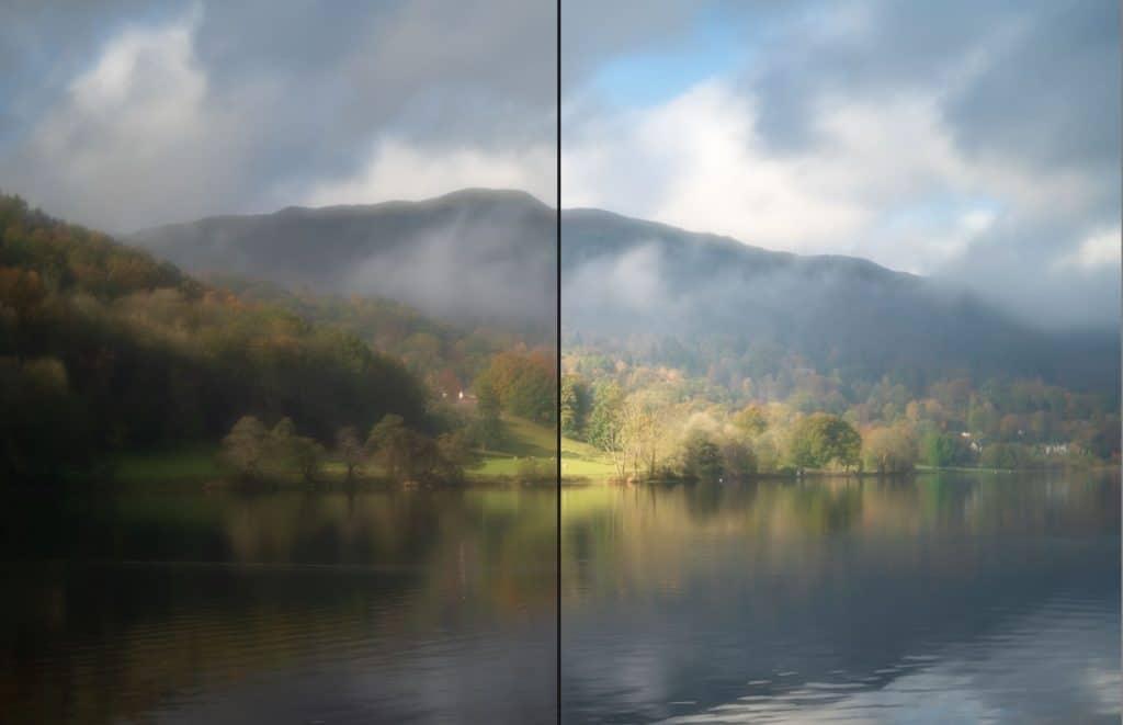 Verbeter je foto's in Lightroom: voorbeeld voor en na
