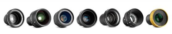 Dit zijn de huidige Lensbaby Optics