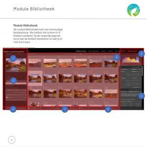 E-book Lightroom Clasic: dit is een voorbeeldpagina