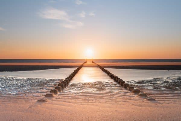 fotograferen van de zonsondergang