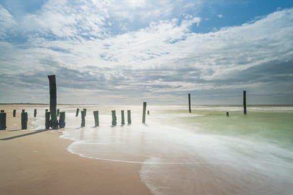 Dit is letterlijk kijk op kustfotografie