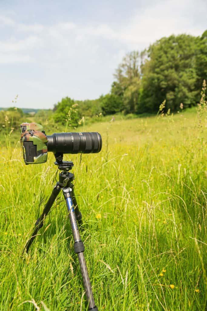 Het Leofoto Ranger LS-253CM statief is geschikt voor macrofotografie