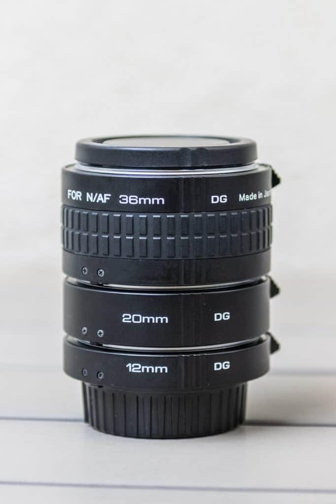 Kenko tussenringen voor Nikon F