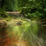 Ideale sluitertijd om stromend water te fotograferen