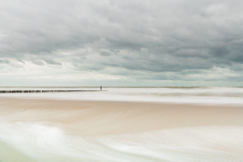 Een beeld gemaakt in Cadzand tijdens de workshop kijk op kustfotografie