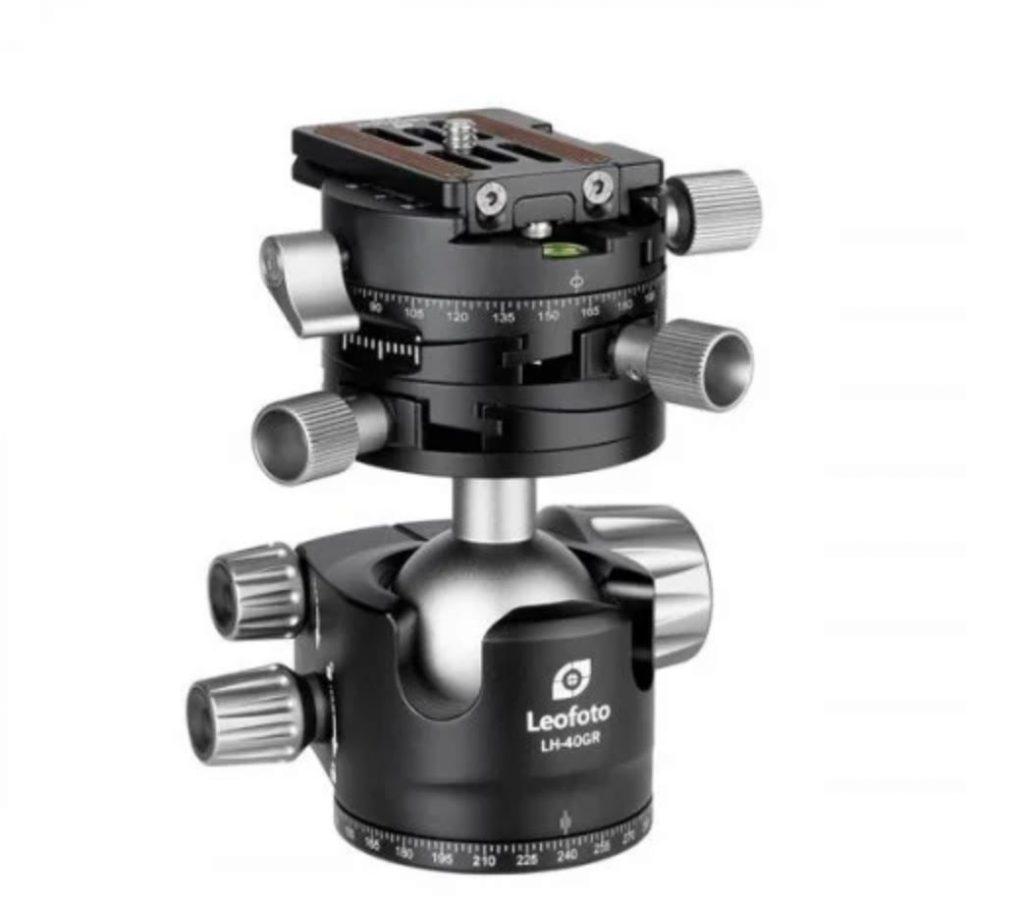 Leofoto LH-40GR met geared panning klem