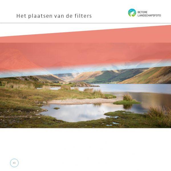 Uit het e-book 'Lange sluitertijden met filters': filter plaatsen
