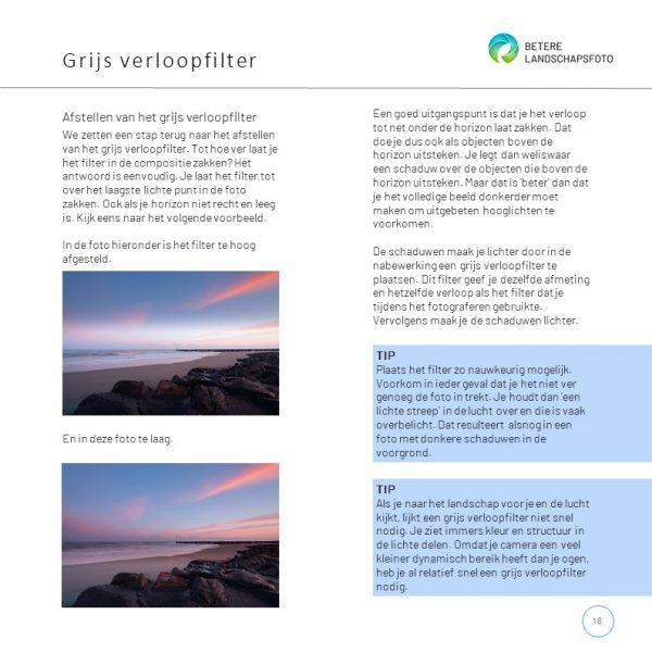 Uit het e-book 'Lange sluitertijden met filters': afstellen filters